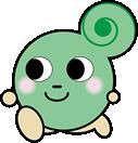 大阪市中央体育館イメージキャラクター マイマイ