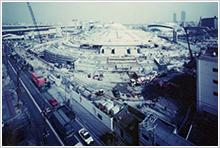 14.外装石貼 屋根盛土(1996年1月~)